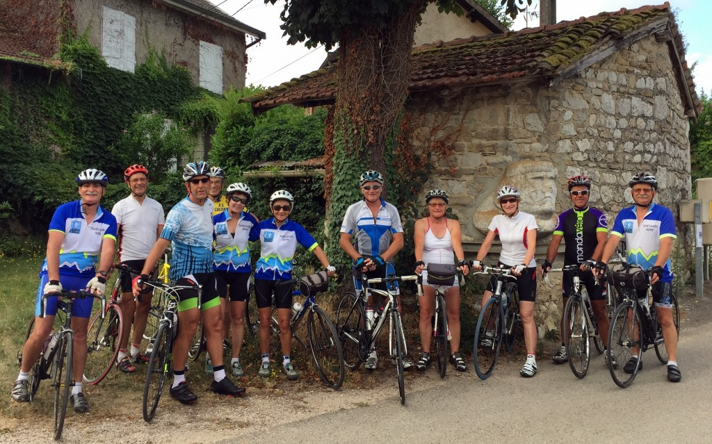 Les Cyclos de St Savin en Principauté de Barens de Barens