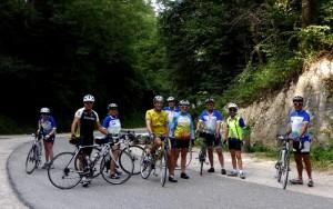 C'est parti pour le Circuit Chartreuse, Col du Granier.